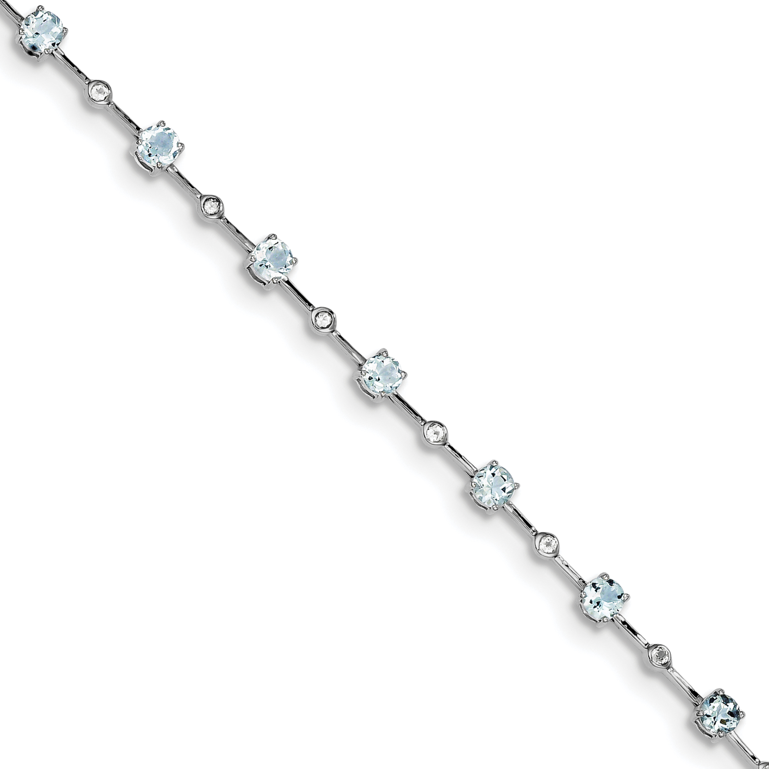 925 Sterling Silver 3.5mm Link Figaro Chain Anklet Ankle Beach Bracelet 9 Inch