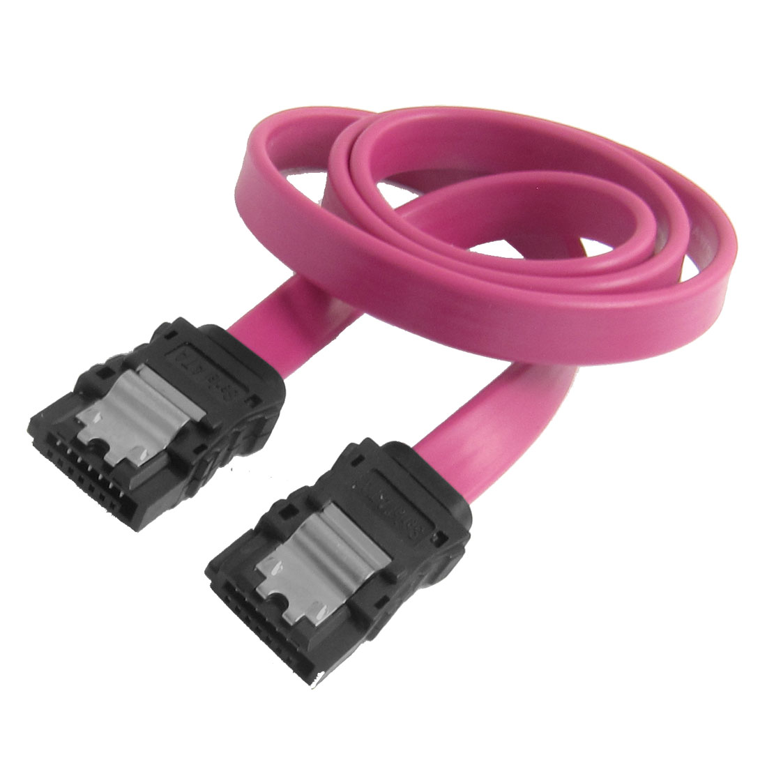Serial ATA SATA 7 Pin Female Cable + Shrapnel for HD Hard Drive