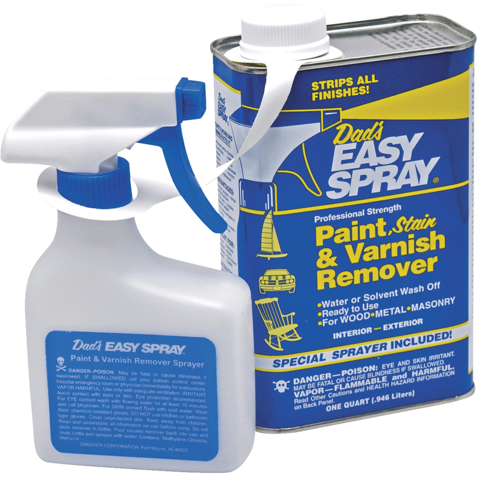 Dad's Easy Spray Stain, Pant & Varnish Stripper by Sansher Corp.