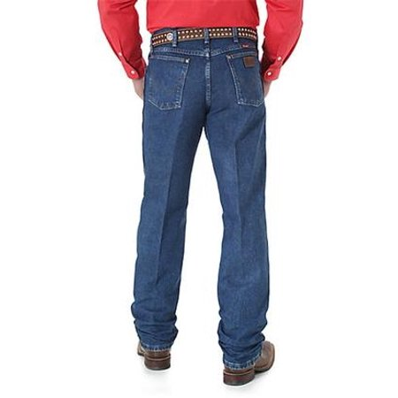 Wrangler Mens Cowboy Cut Relaxed Fit Jeans - Stonewash