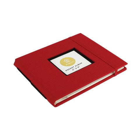 """Kinsho - KINSHO Pocket Albums - 4"""" x 4"""" - Stone"""