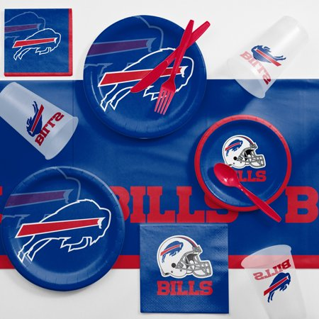 Buffalo Bills Game Day Party Supplies Kit