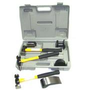 7pc Fiber Glass Handle Auto Body Repair Tools Fender Tool Kit Hammer Dolly Dent, 7pc Fiberglass Handle Auto Body Repair Tools By Generic Ship from US