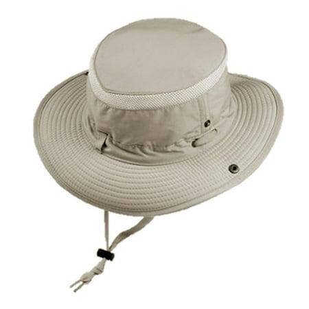 Australian Outback Hats (Glacier Glove Men's Outback Full Brim Vented SPF 50+ Safari Hat Tan)