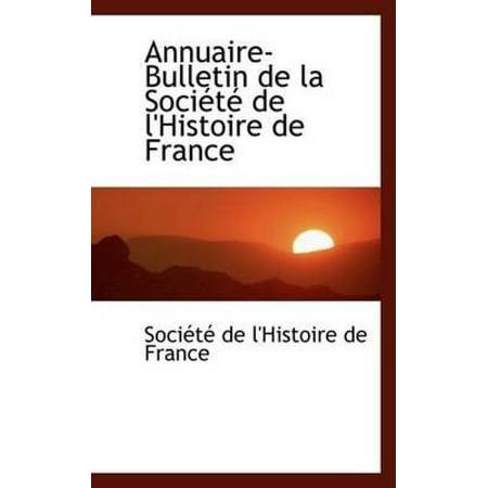 Annuaire-Bulletin de La Sociactac de L'Histoire de France - image 1 of 1