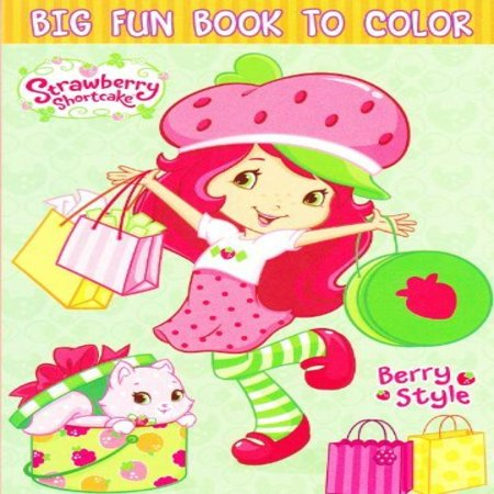 Strawberry Shortcake Coloring Book (Strawberry Shortcake Coloring Book ~ 96)