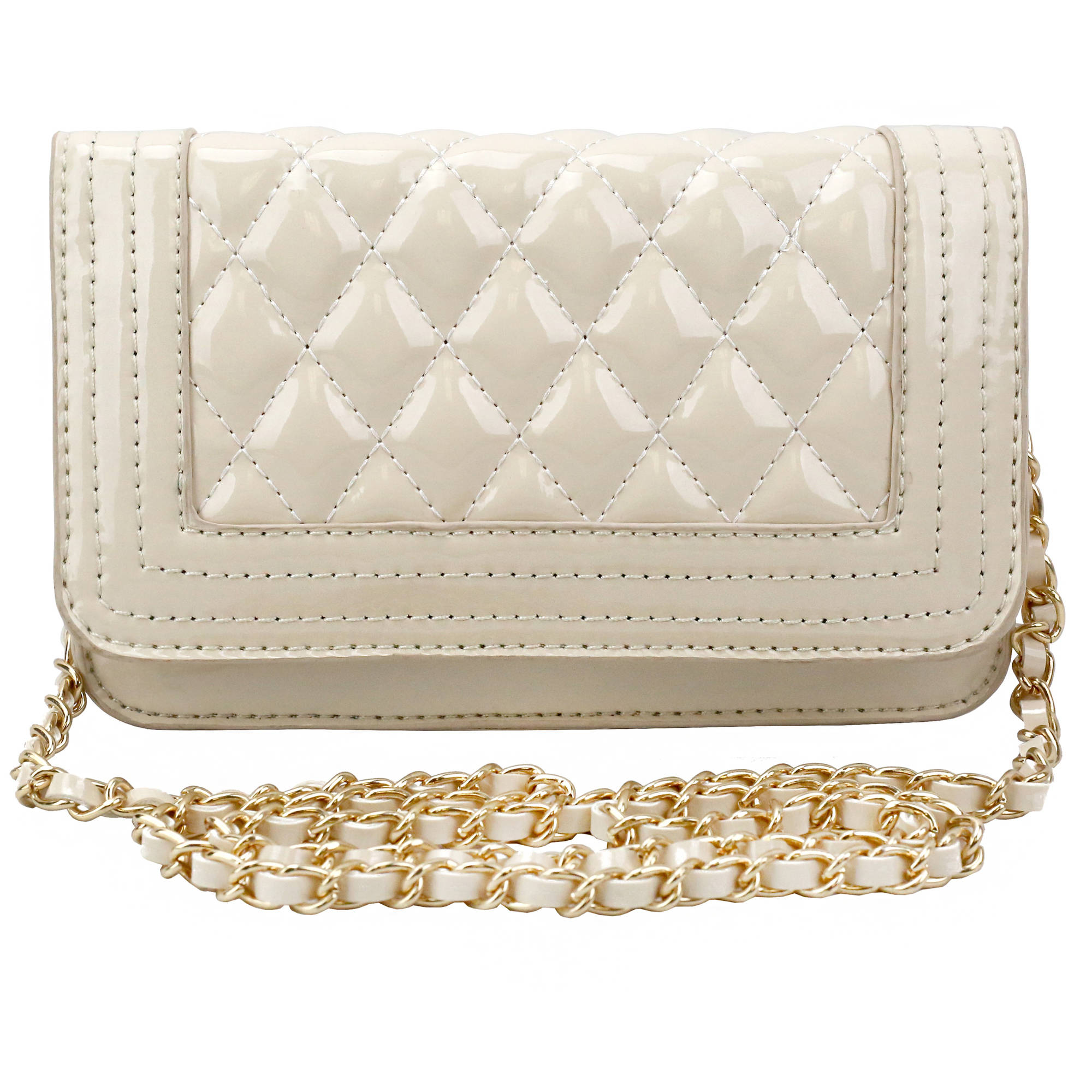Olivia Miller Women's Quilt Mini Shoulder Handbag