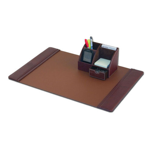 Dacasso Leather 2-Piece Desk Set