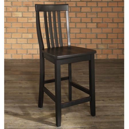 - Crosley Furniture School House Bar Stool with 24