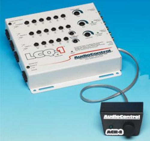 AUDIO CONTROL White Color Powerful Six-Channel Signal Processor (remote Pictured Is Optional)