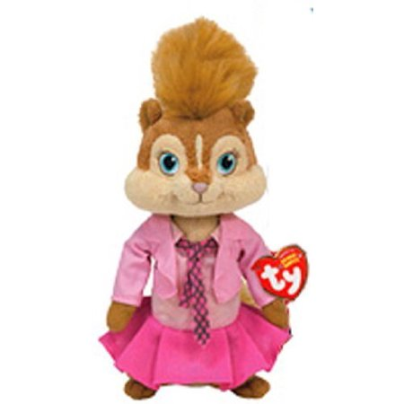Brittany Ty Plush (Alvin and the Chipmunks the Squeakquel), By Ty Beanie Babies - Baby Chipmunk For Sale