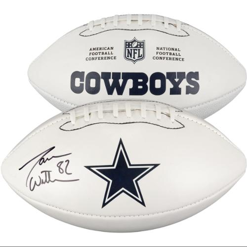 Jason Witten Dallas Cowboys Autographed White Panel Football - Fanatics Authentic Certified