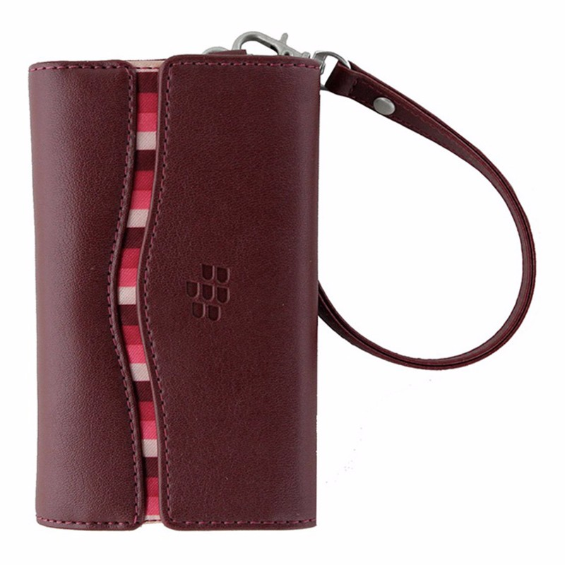 BlackBerry Horizontal Pouch with Strap for BlackBerry 9630 / 9650 - Dark Red