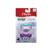 Playtex Binky Silicone Pacifier - 0-6 Months - 2 Pk - Boy + Beyond BodiHeat Patch, 1 Ct