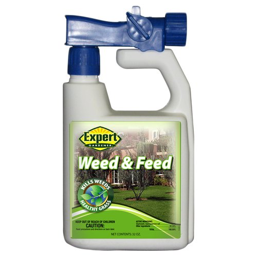 expert gardener weed and feed. Expert Gardener 7,500 Sq Ft Ready-to-Spray Liquid Weed \u0026 Feed Lawn Fertilizer And D