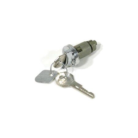 Eckler's Premier  Products 55-195051  El Camino Ignition Locks & Keys Octagon - El Camino Ignition Key Lock