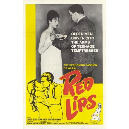Red Lips Poster Movie  27X40