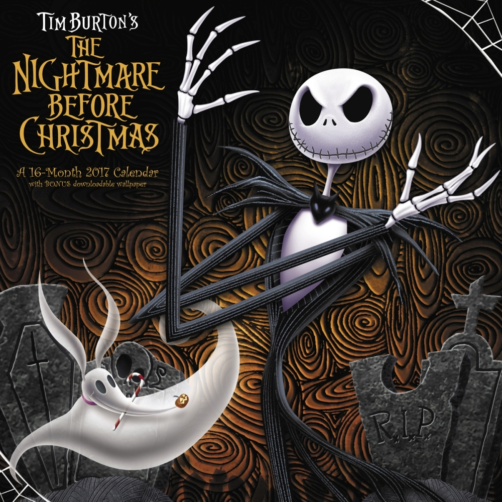 The Nightmare Before Christmas Wall Calendar