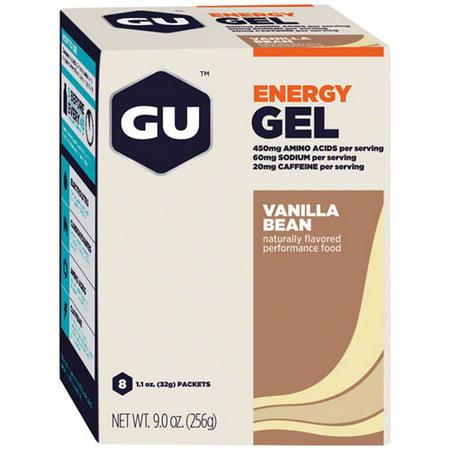 Gu Energy Gel, Vanilla, 8 Ct