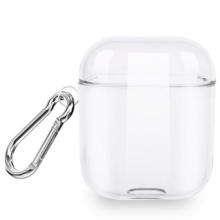 Airpods Transparent Clear Protective Case Airpods Protective Case And Strap Made Of Lightweight Impact-resistant Silicone. Integrated Charging Port Cover Protects Port From Dust And Dirt. Carabiner Clip Included To Securely Attach Your Airpods To Backpack And Other Outdoor Gear. Airpods Strap Mounts Each End And Keeps Your Airpods Together. Compatible With Airpods With Charging Case And Airpods With Wireless Charging Case. Does Not Interfere With Wireless Charging. Airpods Not Included.