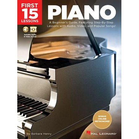 First 15 Lessons - Piano : A Beginner's Guide, Featuring Step-By-Step Lessons with Audio, Video, and Popular Songs!](Easy Halloween Song Piano)
