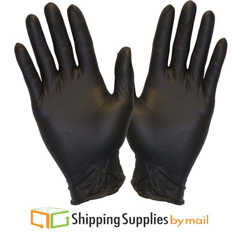 Disposable Black Powder Free Medical Grade Nitrile Glove, Medium 60000 Count by SSBM by ShippingSuppliesByMail