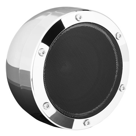"Boss MC720B 4"" 1000W Full Range Motorcycle ATV Bluetooth Speakers Pair and Amp"