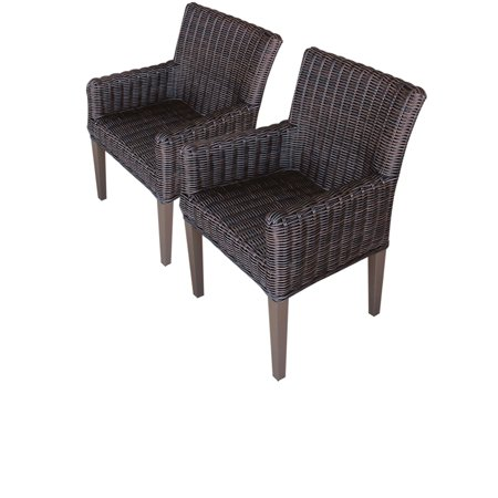 2 Rustico Dining Chairs With Arms ()