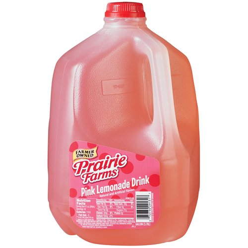 Prairie Farms Pink Lemonade Drink, 1 Gallon