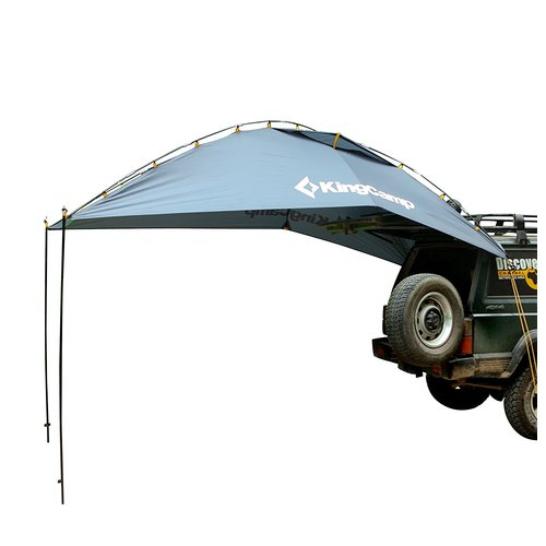 sc 1 st  Walmart & Kingcamp Compass Outdoor Car Canopy 6 Person Tent - Walmart.com