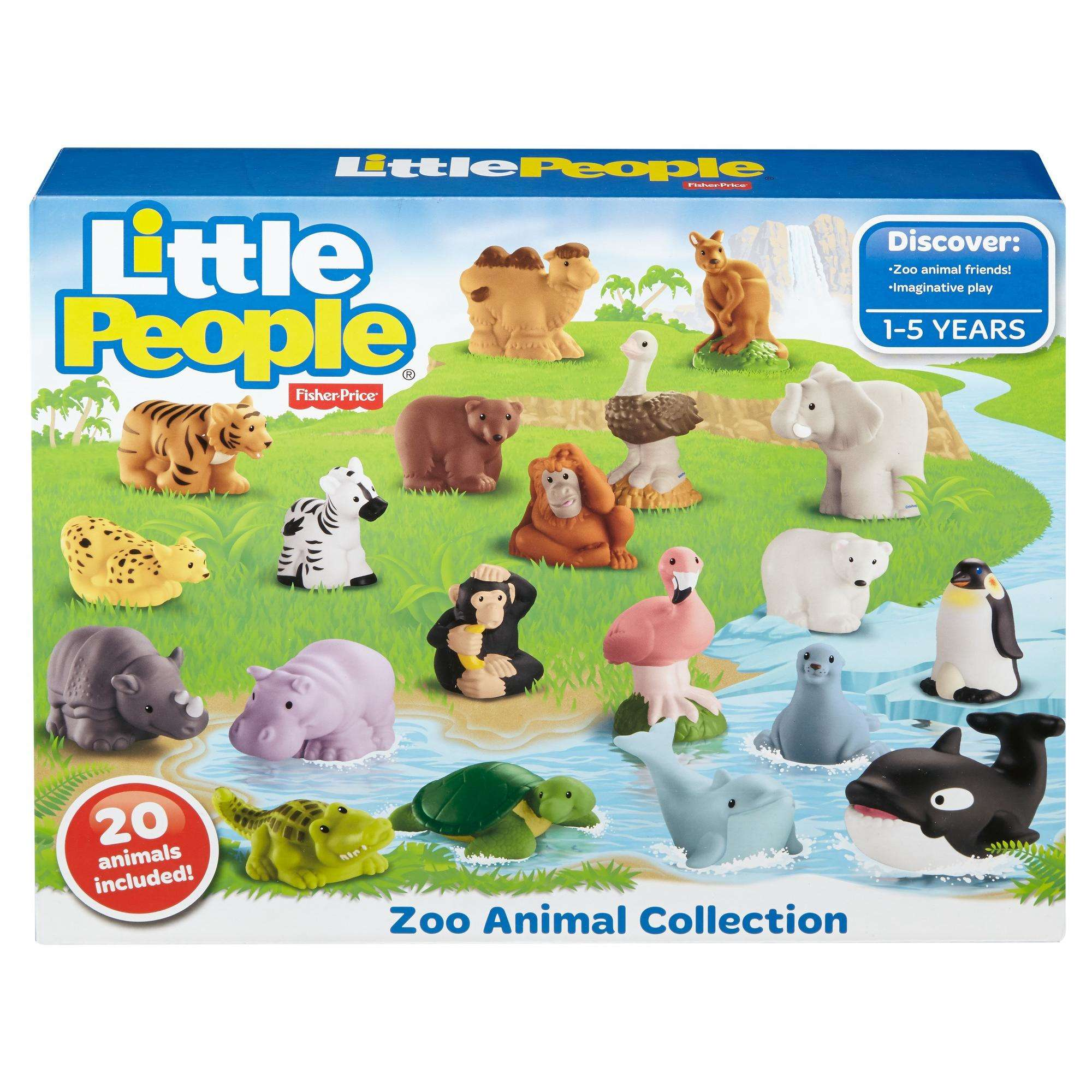 Fisher Price Little People Animal Pack Walmart Com Walmart Com