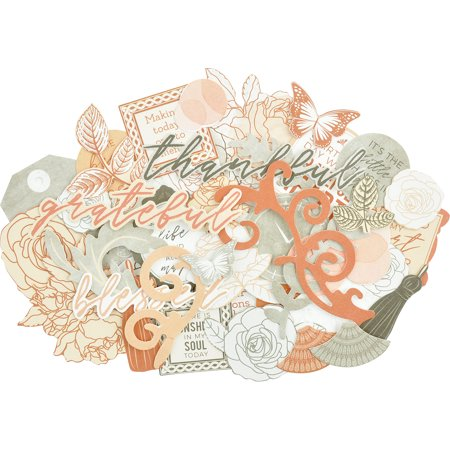 Kaisercraft Collectables Cardstock Die-Cuts-Peachy