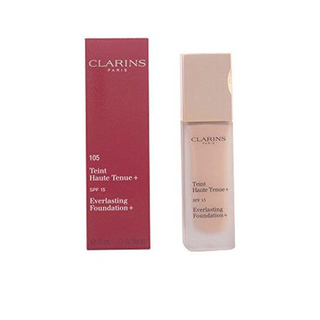 Clarins Everlasting Foundation 105 Nude 1.2 fluid ounces SPF 15
