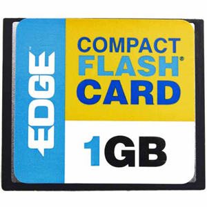 1GB PREMIUM COMPACT FLASH CARD CF