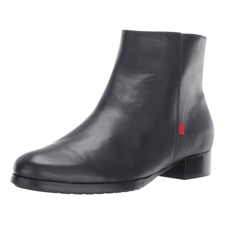 marc joseph new york womens leather made in brazil prince street bootie ankle boot, navy nappa, 5.5 b(m) (Florentine Nappa Leather)