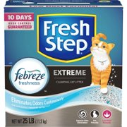 Fresh Step Extreme with Febreze Freshness, Clumping Cat Litter, Scented, 25 lbs