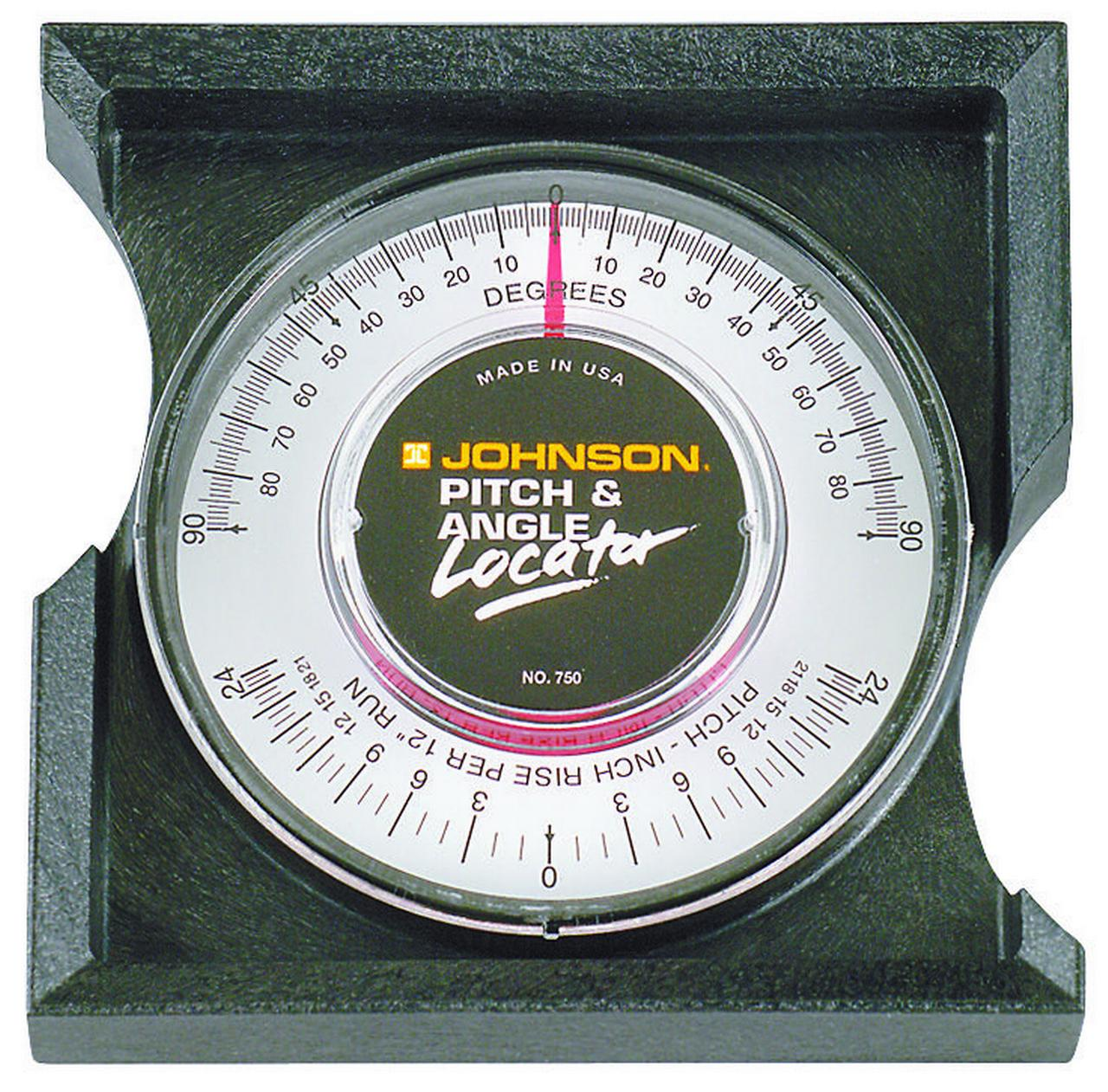 Johnson Pitch/Slope Locator, Black, 750