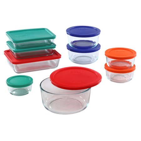 Pyrex Simply Store 18-piece - Cheap Glass Containers