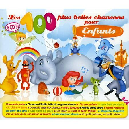 Les 100 Plus Belles Chansons Pour Enfant (CD)](L'halloween Chanson)