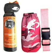 Best Bear Sprays - UDAP Bear Spray With Pink Camo Hip Holster Review