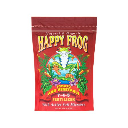 FoxFarm Happy Frog Tomato & Vegetable  7 - 4 - 5 - Happy Frog Fertilizer