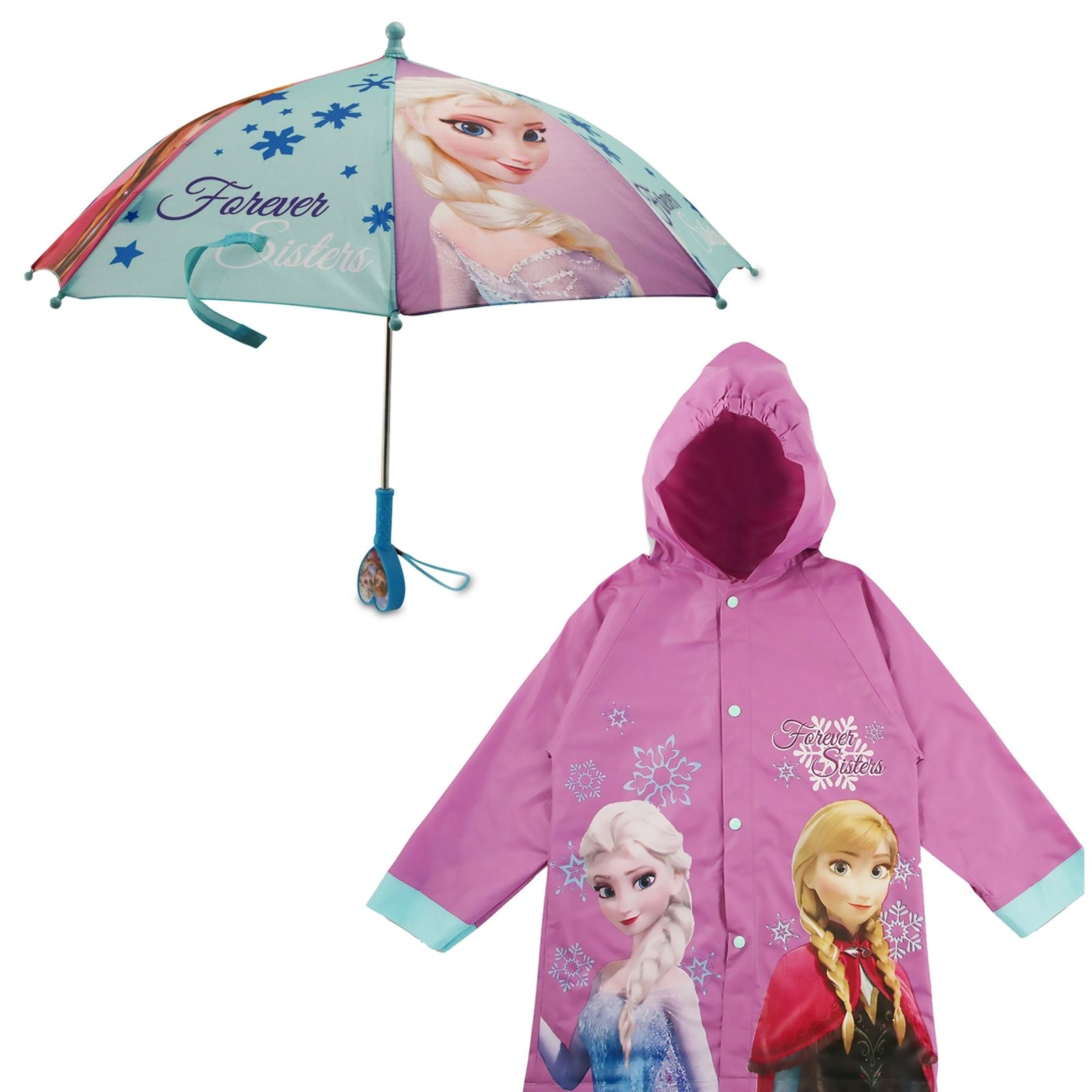 Disneys Princess Childrens Rain Slicker in S//M