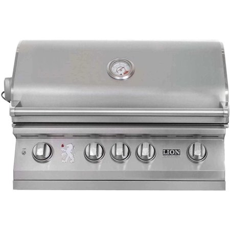 Lion 32-Inch L75000 Stainless Steel Built-In Gas BBQ -