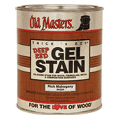 84316 Hpt Deep Red Gel Stain - Rich Mahogany