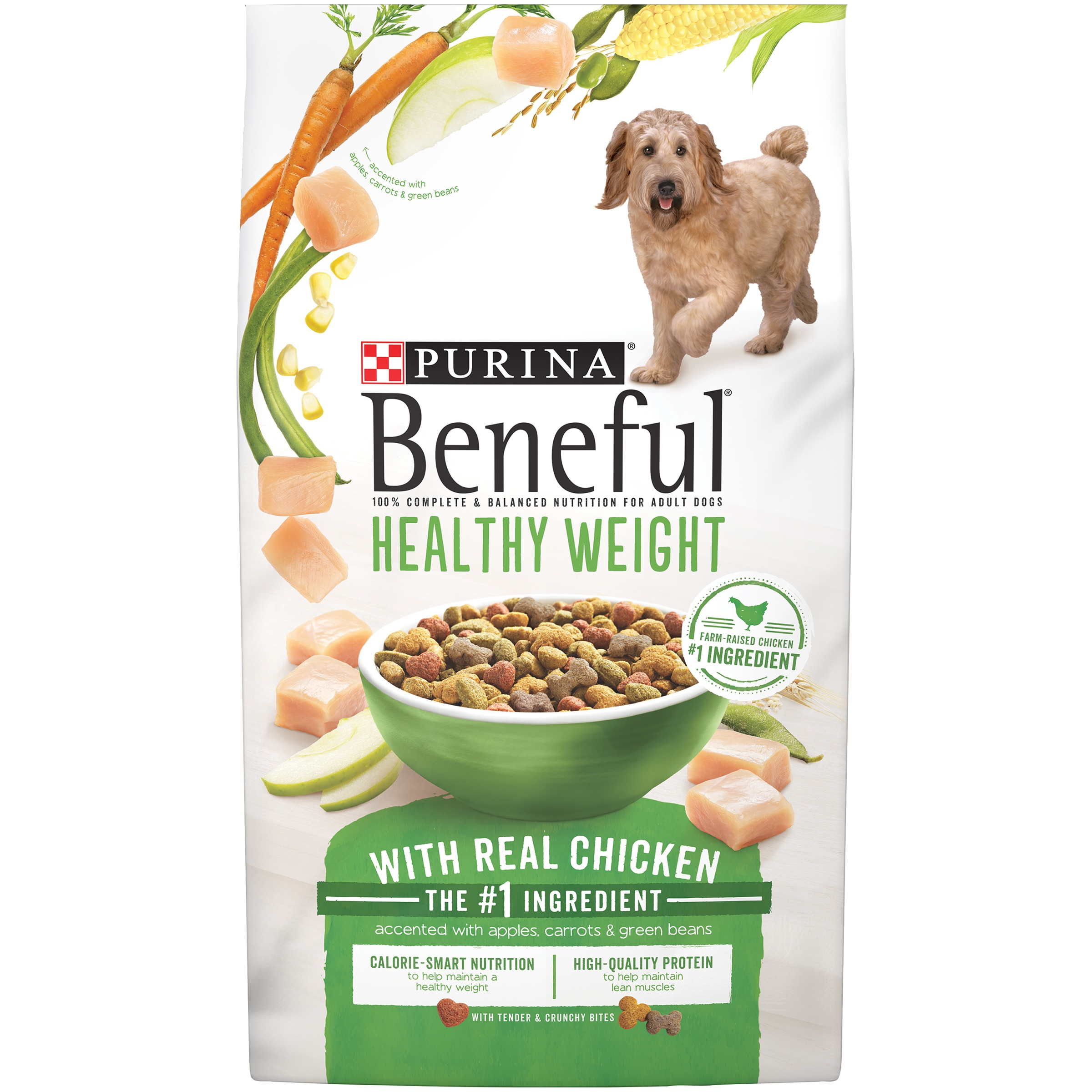 Purina Beneful Healthy Weight With Real Chicken Adult Dry Dog Food ...