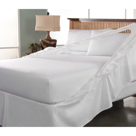 Ultrasoft Bedskirt And Box Spring Protector Walmart Com