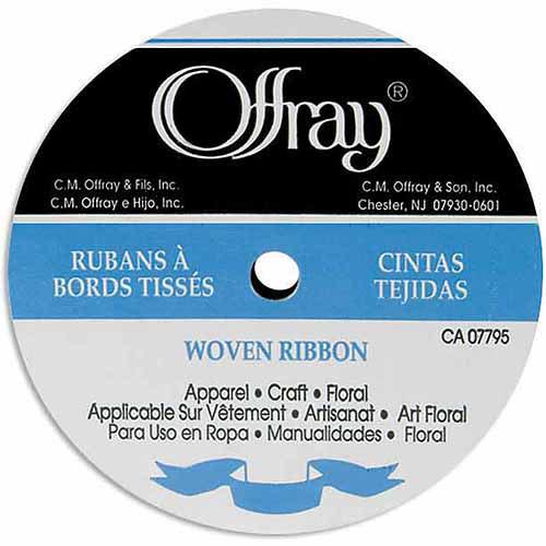 "Single-Face Satin Ribbon 1/4"" W, 20 yds, Yellow Gold"