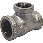 Southland 3/4 In. x 1/2 In. x 1/2 In. Malleable Iron Reducing Galvanized Tee