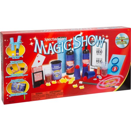 Ideal 100 Trick Spectacular Magic Show Set With Instructional Dvd