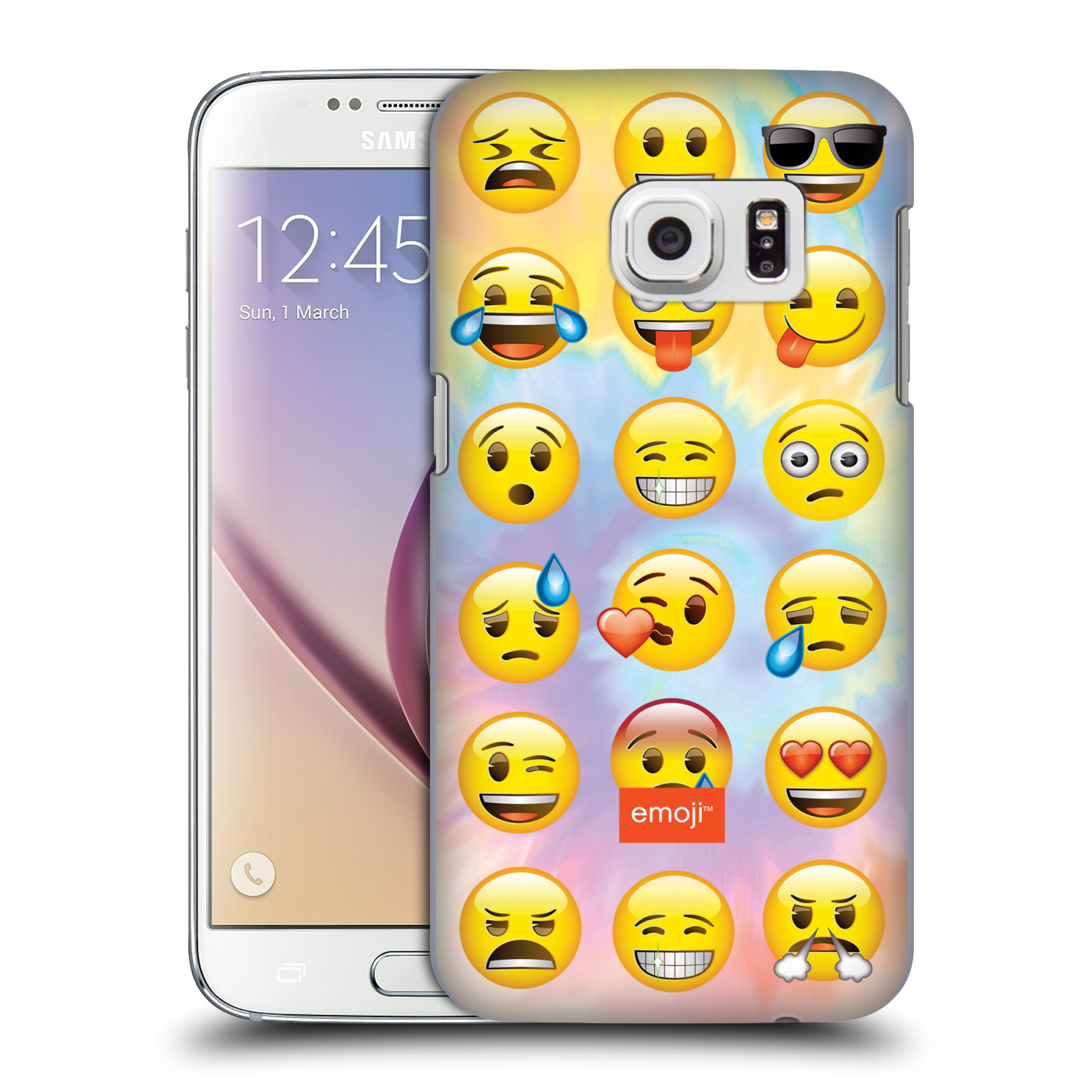 OFFICIAL EMOJI SMILEYS HARD BACK CASE FOR SAMSUNG PHONES 1